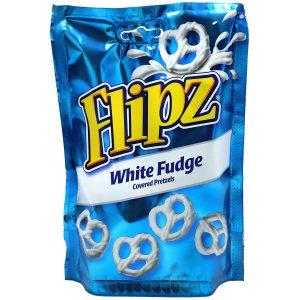 Σνακ Πρέτζελ Flipz White Fudge Covered Pretzels 90g