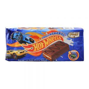 Ατομικά Κέικ Γεμιστά Freddi Snack Hot Wheels 9x30g