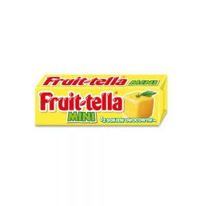 Μαλακή Καραμέλα Fruittella Mini with Fruit Juice Lemon Flavour 13g
