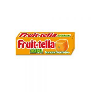 Μαλακή Καραμέλα Fruittella Mini with Fruit Juice Orange Flavour 13g