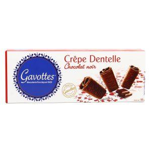 Μπισκότο Κρέπα με Μαύρη Σοκολάτα Gavottes Crepe Dentelle Chocolat Noir 90g