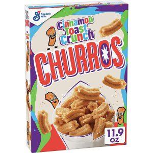 Παιδικά Δημητριακά Cinnamon Toast Crunch Churros General Mills 337g