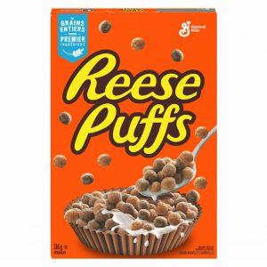 Δημητριακά με Φυστικοβούτυρο Reeses Puffs General Mills 326g