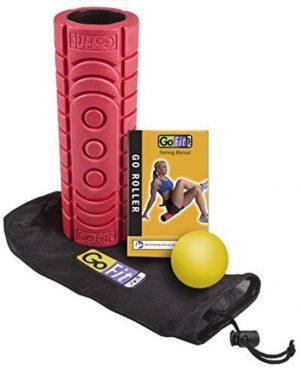Κύλινδρος Γυμναστικής GoFit Go Roller Kit Red GF FR4