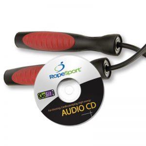 Σχοινάκι Γυμναστικής GoFit Ultimate ProRope and Audio CD GF SRACD