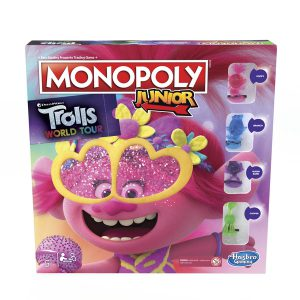 Επιτραπέζιο Monopoly Junior Trolls World Tour Hasbro (Στα Αγγλικά) E7496