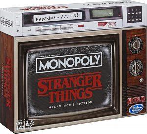 Επιτραπέζιο Monopoly Stranger Things Collectors Edition Hasbro (Στα Αγγλικά) E8194
