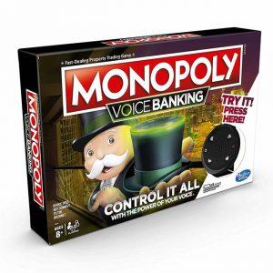 Επιτραπέζιο Monopoly Voice Banking Hasbro (Στα Αγγλικά) E4816