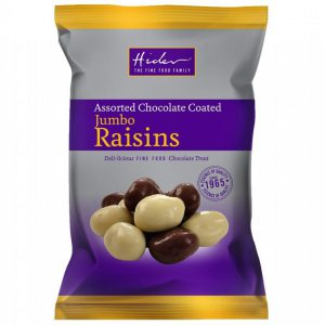 Σταφίδες με Επικάλυψη Σοκολάτας Hider Chocolate Coated Jumbo Raisins 135g