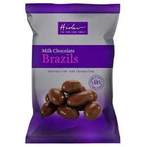 Σοκολατάκια Γάλακτος Hider Milk Chocolate Brazils 100g