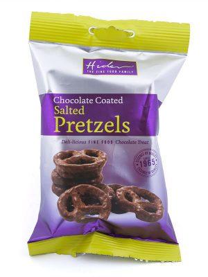 Σνακ Πρέτζελ Hider Chocolate Coated Salted Pretzels 65g