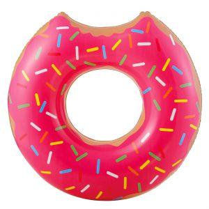 Φουσκωτή Σαμπρέλα Κολύμβησης Donut Ροζ 89x84x23cm