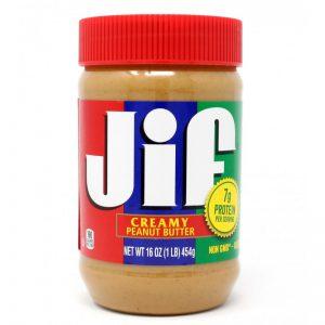 Φυστικοβούτυρο Κρεμώδες Jif Creamy Peanut Butter 454g