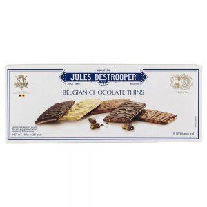 Μπισκότα με Επικάλυψη Σοκολάτας Jules Destrooper Belgian Chocolate Thins 100g