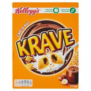 Δημητριακά Kelloggs Krave Choco Nut 375g