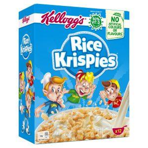 Παιδικά Δημητριακά Kelloggs Rice Krispies 375g