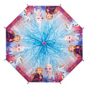 Παιδική Ομπρέλα Μπαστούνι Ροζ Frozen II