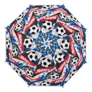 Παιδική Ομπρέλα Μπαστούνι Μπλε Football 65cm
