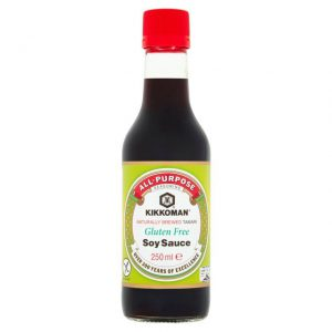 Σάλτσα Σόγιας Χωρίς Γλουτένη Kikkoman Tamari Gluten Free Soy Sauce 250ml