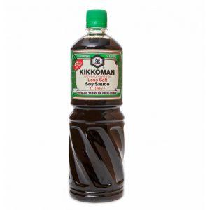 Σάλτσα Σόγιας με Λιγότερο Αλάτι Kikkoman All Purpose Seasoning Less Salt Soy Sauce 1000ml