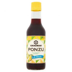 Σάλτσα Σόγιας με Λεμόνι Kikkoman Ponzu Lemon Soy Sauce 250ml