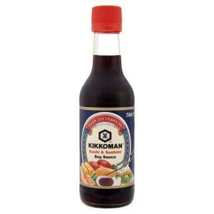 Σάλτσα Σόγιας για Σούσι και Σασίμι Kikkoman Sushi and Sashimi Soy Sauce 250ml