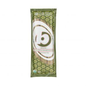 Νούντλς Βιολογικά Καστανού Ρυζιού με Φύκια King Soba Brown Rice and Wakame Noodles 250g