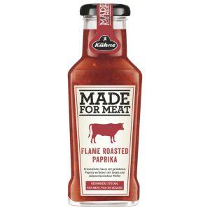 Σάλτσα Kuhne Made For Meat Flame Roasted Paprika Sauce 235ml