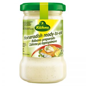Σάλτσα Αγριοράπανο Kuhne Horseradish Ready to Use Sauce 140g