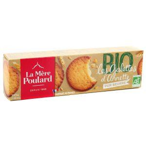 Μπισκότα Βουτύρου Βιολογικά La Mere Poulard Les Galettes d Annette BIO 110g