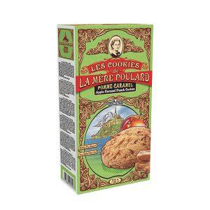 Μπισκότα Μήλο Καραμέλα La Mere Poulard Les Cookies Pomme Caramel 200g