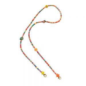 Κορδόνι Μάσκας Αξεσουάρ Παιδικό Χειροποίητο The Mamacita Store Mask Accessories Happy Fruits Chain