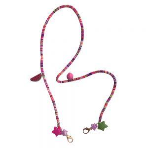 Κορδόνι Μάσκας Αξεσουάρ Παιδικό Χειροποίητο The Mamacita Store Mask Accessories Exotic Fruits Chain