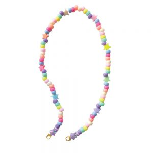 Κορδόνι Μάσκας Αξεσουάρ Παιδικό Χειροποίητο The Mamacita Store Mask Accessories Colorful Candy Chain