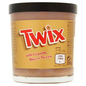 Άλειμμα Mars Twix Spread with Crunchy Biscuit Pieces 200g