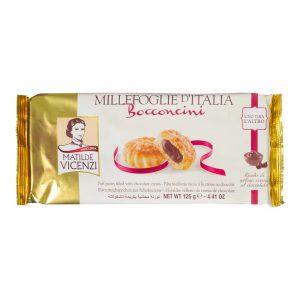 Μπισκότα Σφολιάτας Γεμιστά Matilde Vicenzi Chocolate Cream Bocconcini 125g