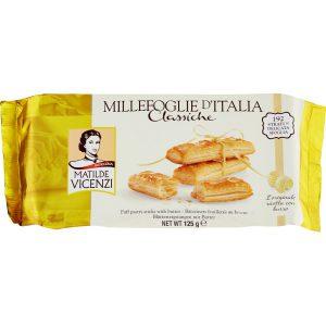 Μπισκότα Σφολιάτας Βουτύρου Matilde Vicenzi Millefoglie d Italia Classiche 125g