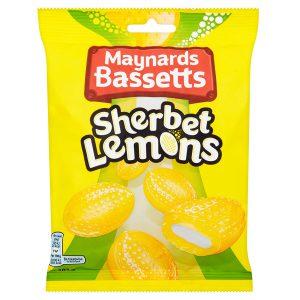 Καραμέλες Λεμόνι Maynards Bassetts Sherbet Lemons 192g