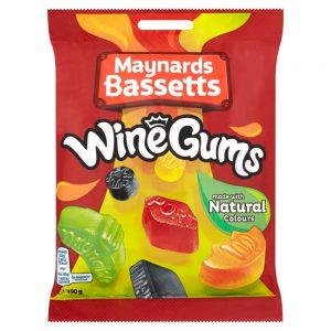Καραμελότσιχλες Maynards Bassetts Wine Gums 190g
