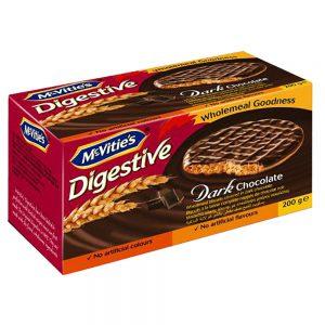 Μπισκότα McVities Digestive Dark Chocolate 200g
