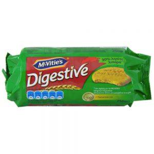 Μπισκότα Μειωμένων Λιπαρών McVities Digestive Less Fat 250g