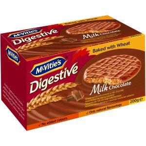 Μπισκότα McVities Digestive Milk Chocolate 200g