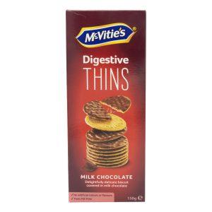 Μπισκότα McVities Digestive Milk Chocolate Thins 150g
