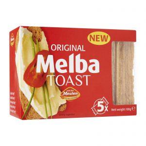 Φρυγανιές Σταρένιες Melba Toast Original 100g