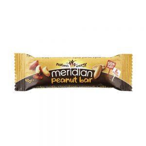 Μπάρα Ενέργειας με Φυστίκι Χωρίς Γλουτένη Vegan Meridian Peanut Bar 40g
