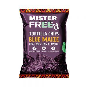 Τσιπς Τορτίγιας Mister Freed Blue Maize Tortilla Chips 135g
