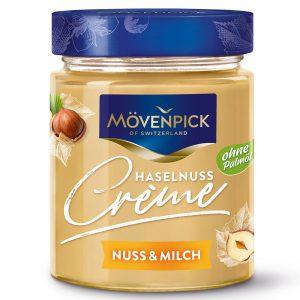 Άλειμμα Κρέμα Φουντούκι Γάλα Movenpick Hazelnut and Milk Creme 300g