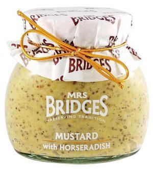 Μουστάρδα Mrs Bridges Mustard with Horseradish 200g