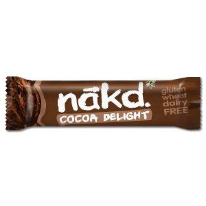 Μπάρα Φρούτων και Ξηρών Καρπών Nakd Cocoa Delight 35g