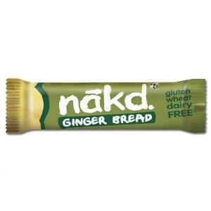 Μπάρα Φρούτων και Ξηρών Καρπών Nakd Ginger Bread 35g